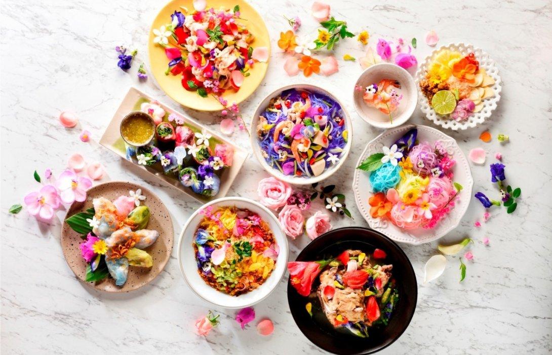 """มหัศจรรย์อาหารดอกไม้สุดครีเอท! ฉลอง 71 ปี """"ห้างเซ็นทรัล"""""""