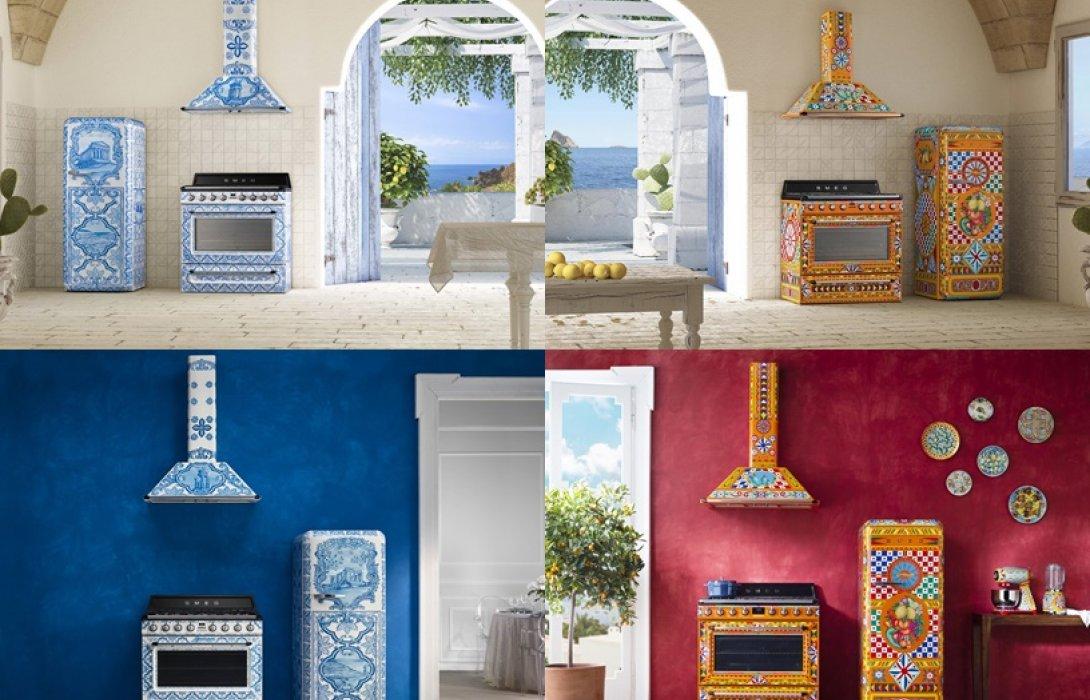 """เครื่องใช้ไฟฟ้าในห้องครัวคอลเลกชั่นใหม่ล่าสุด """"Divina Cucina (ดิวิน่า คูซีน่า)"""" จาก Smeg x Dolce & Gabbana"""