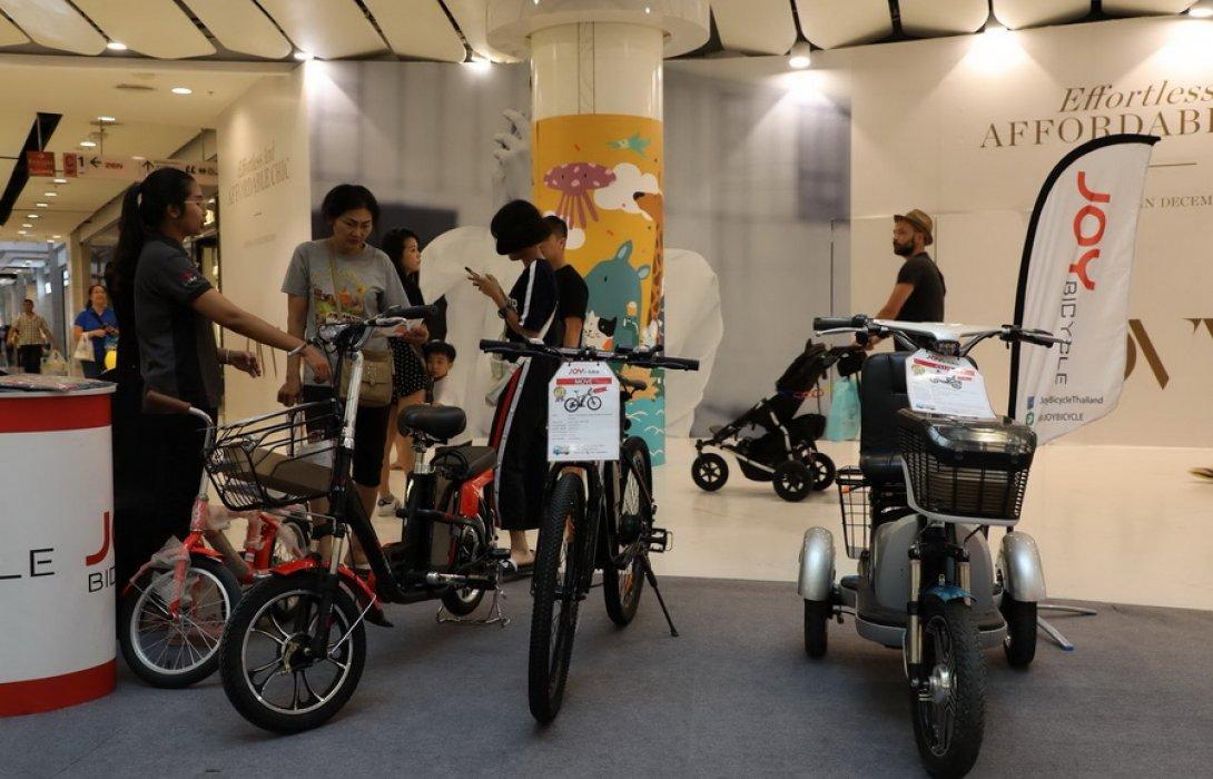 คาดจักรยานไฟฟ้า หรือ อีไบค์ (e-Bike) มาแรง ... ปัจจัยสังคมผู้สูงอายุโตพุ่ง