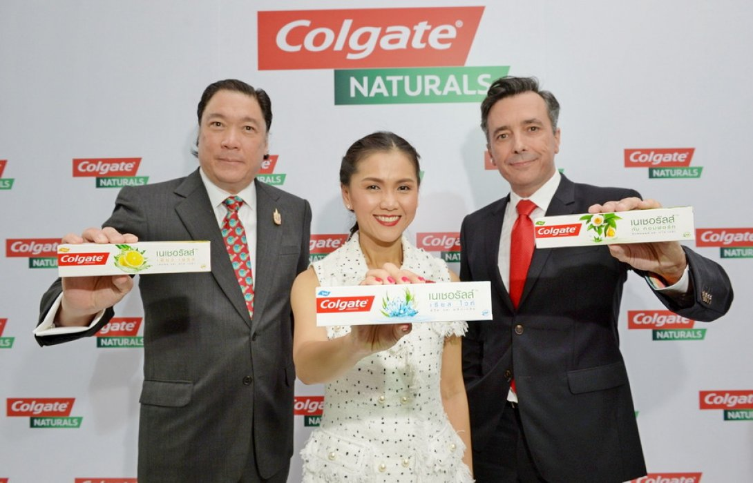 """""""คอลเกต"""" ทุ่ม 100 ล. ส่ง ยาสีฟันธรรมชาติเจาะทุกทัชพอยต์"""