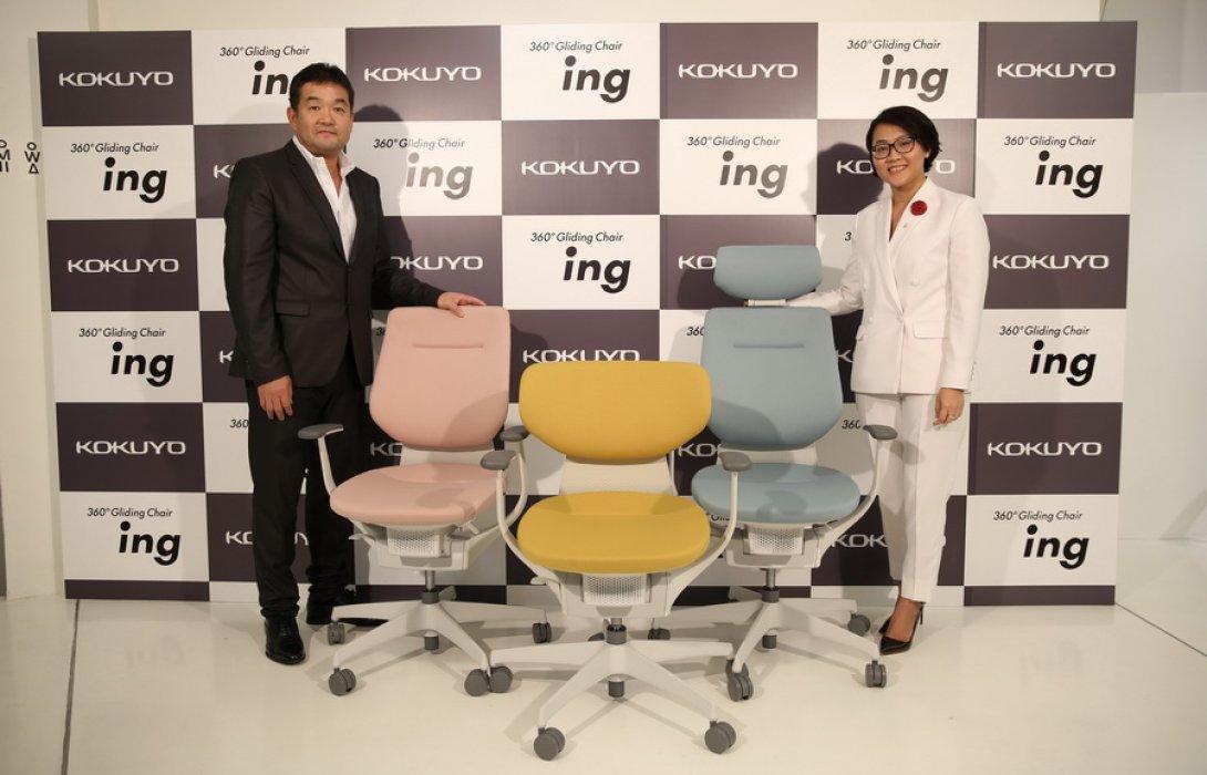 """""""โคคูโย"""" อัด 10 ล.ส่ง เก้าอี้สำนักงานดูแลสุขภาพรุกตลาดไทย"""