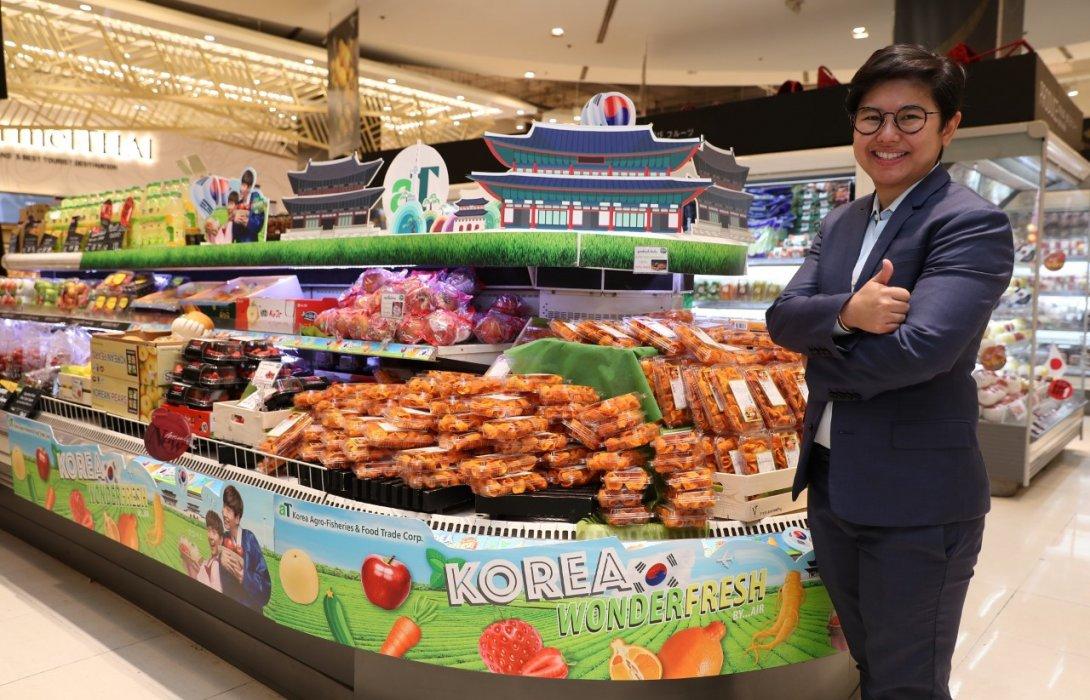 """""""วัชมนฟู้ด"""" รุกทำตลาด หนุนคนไทย บริโภคผักและผลไม้นำเข้าจากต่างประเทศ ดันยอดโต"""