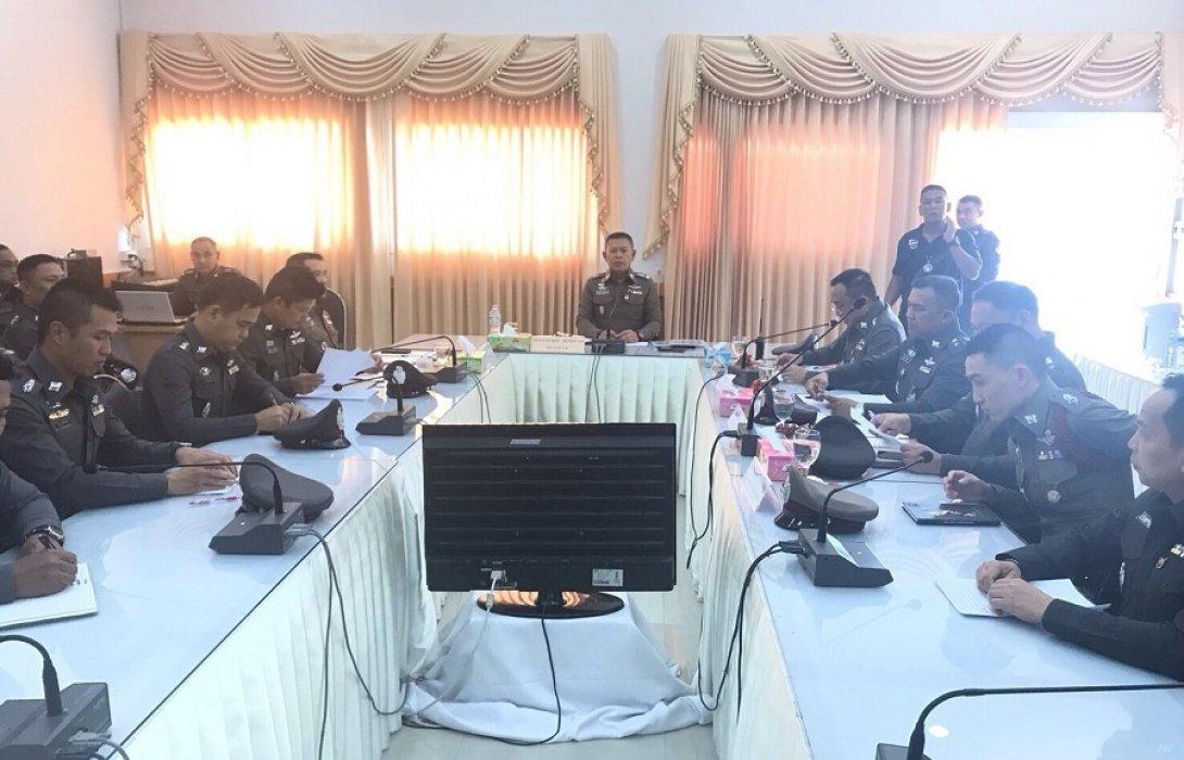 เดอะโอ๋!!! ตรวจเยี่ยมบำรุงขวัญพร้อมมอบนโยบาย สภ.เมืองนนทบุรี