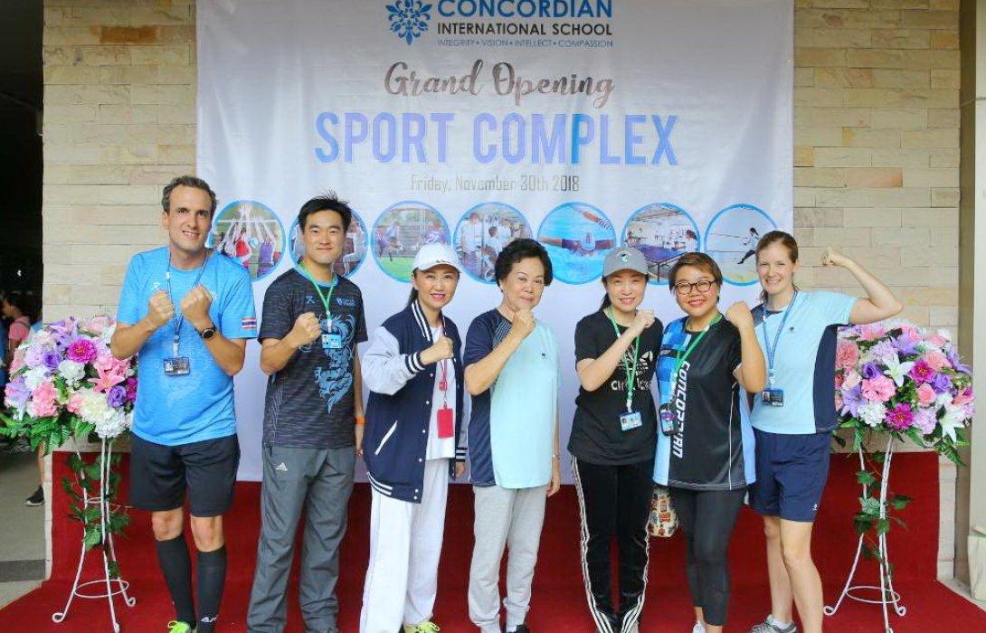 คอนคอร์เดียน เปิด Sport Complex ส่งเสริมสุขภาพนักเรียน