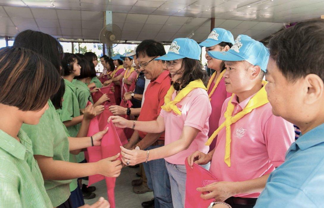 จิตอาสา จุฬาฯ สามัคคี ฟื้นฟู 11 โรงเรียนหลังน้ำท่วม จ.อุบลฯ ครั้งที่ 2