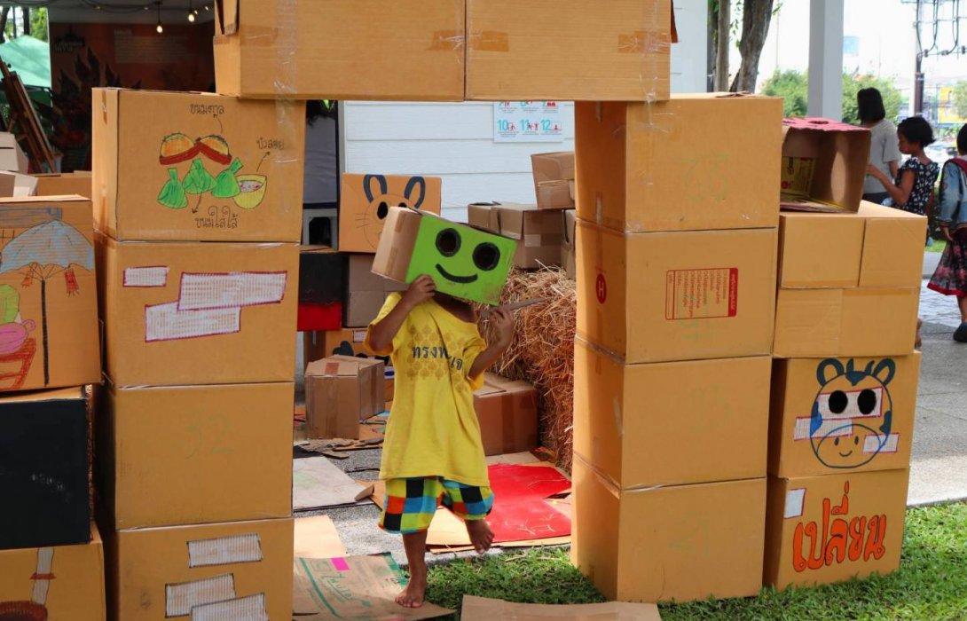 เครือข่ายโคราชยิ้มชูการเล่นสร้างทักษะชีวิตที่ดีให้กับเด็ก