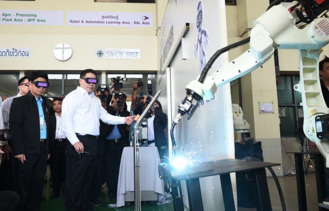 กระทรวงอุตสาหกรรม เดินหน้าเปิดศูนย์ปฏิรูปอุตสาหกรรม 4.0 ภาคที่9จ.ชลบุรี