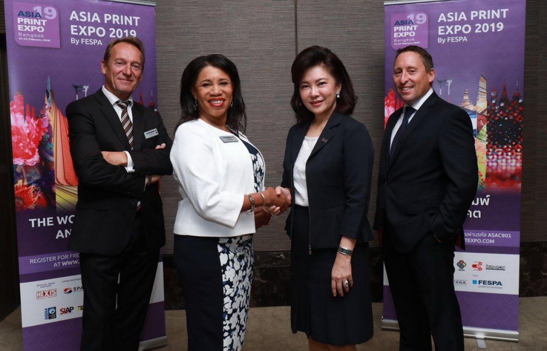 """""""เฟสป้า""""  ปั้นงาน ASIA PRINT EXPO 2019  ผลักดันนวัตกรรมแห่งอนาคตในอุตสาหกรรมการพิมพ์สู่ภูมิภาคเอเชีย"""