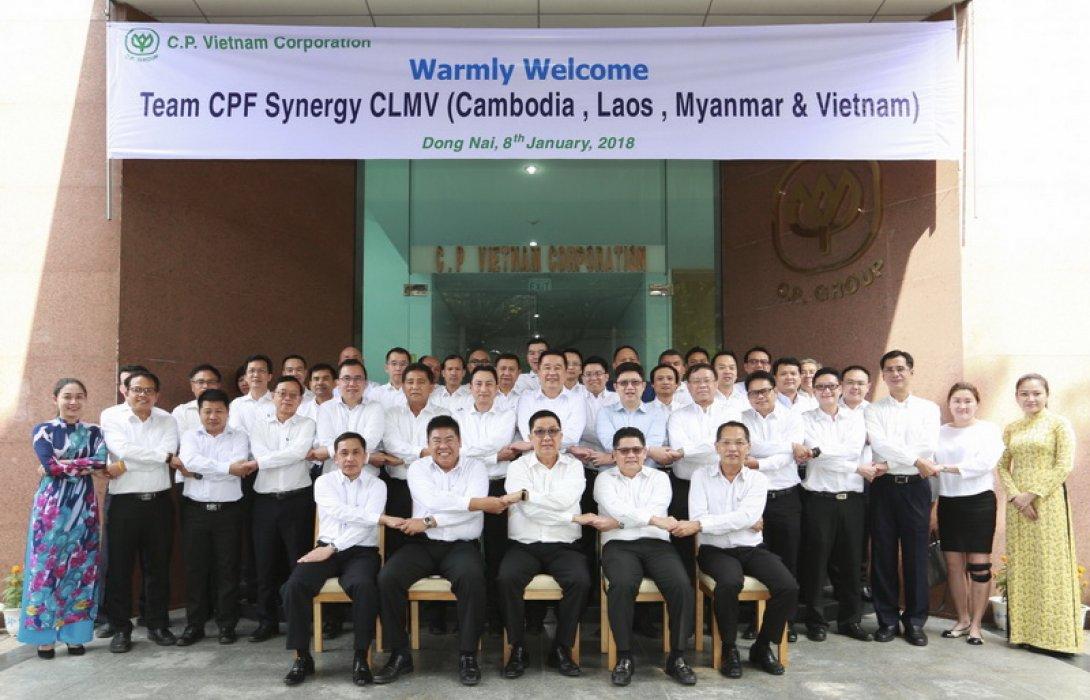 ซีพี-ซีพีเอฟ ผนึกกำลัง CLMV จับมือสู่ครัวโลก