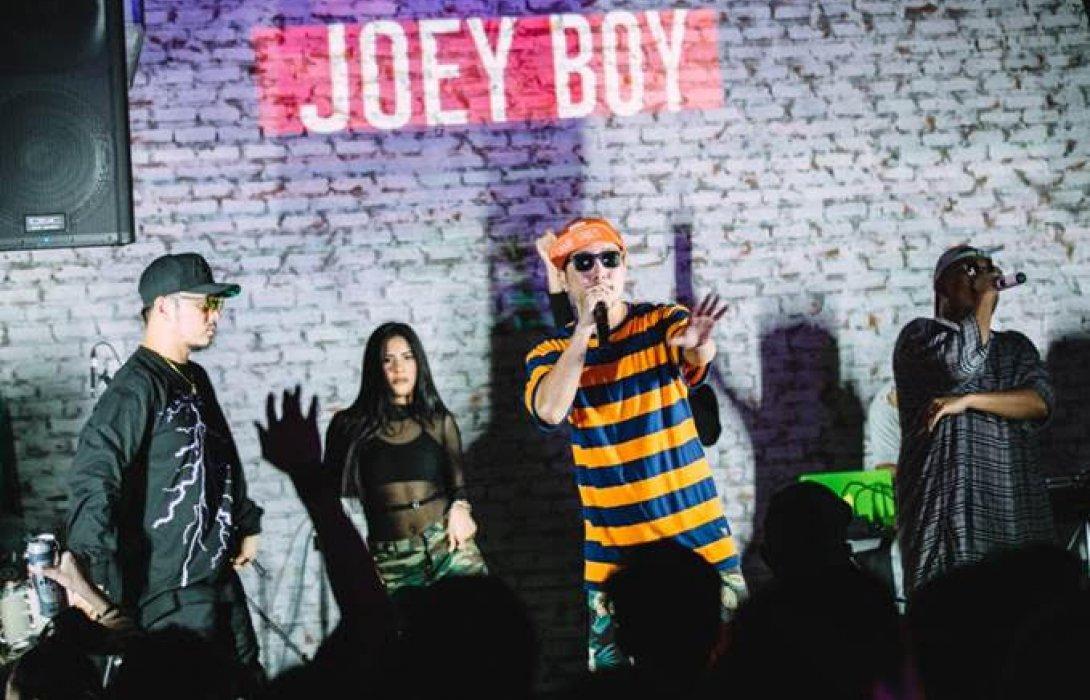 """""""โจอี้ บอย"""" นำทีมศิลปินฮิปฮอป  เขย่าความมันส์แบบจัดเต็ม บนเวที 'คูล เอ็กซ์ พลอชัน'"""