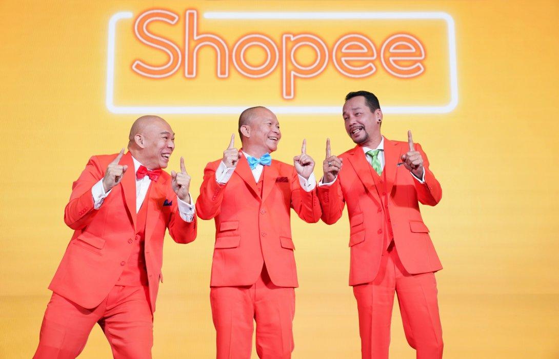 """แค่เห็นก็ขำแล้ว!!  3 ดาวตลกยืนหนึ่งในไทย """"หม่ำ-เท่ง-โหน่ง"""" พกความฮาเปิดตัวเป็นแอมบาสเดอร์แคมเปญล่าสุดใน Shopee 11.11 Big Sale"""