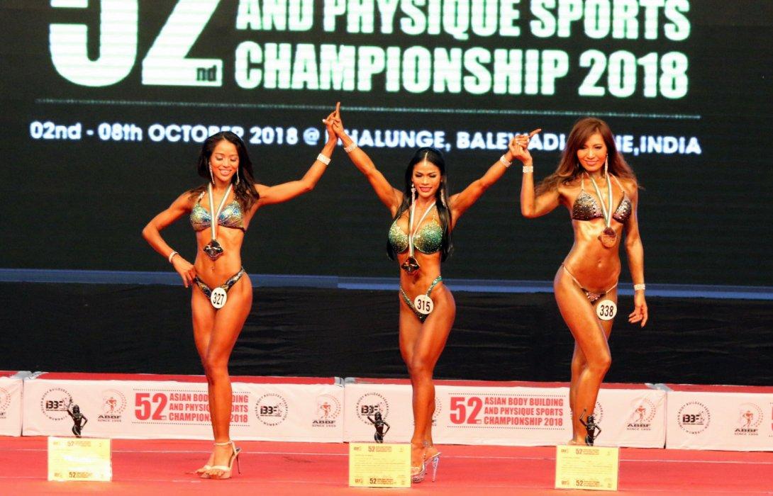 ทัพเพาะกายไทยประเดิมสวย 3 ทอง ขุนตาล-รพีพร-อรอนงค์โชว์ฟอร์มกระหึ่มเอเชีย