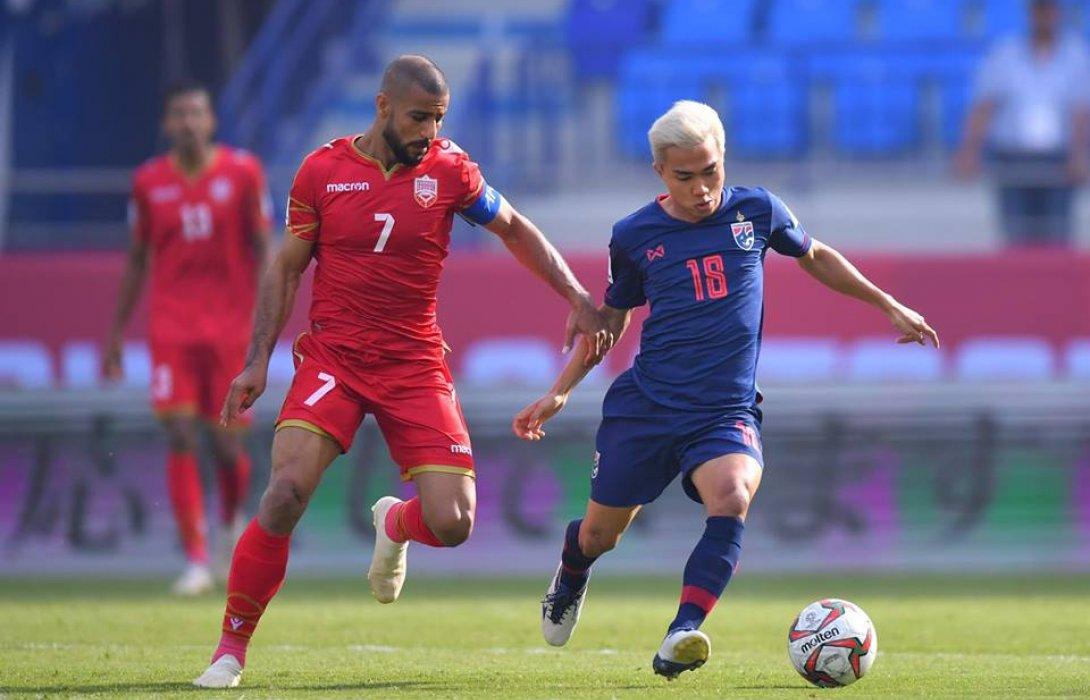 ชนาธิป ซัดชัย พาไทย เชือด บาห์เรน 1-0 ลุ้นเข้ารอบเอเชียน คัพ 2019