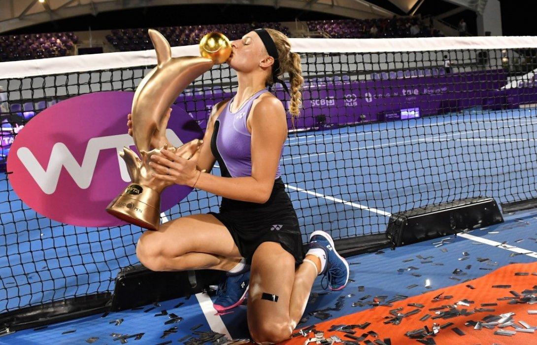 'ยาสเทรมสก้า'ดาวรุ่งยูเครนคว้าแชมป์ ศึกเทนนิส'โตโยต้า ไทยแลนด์ โอเพ่น'