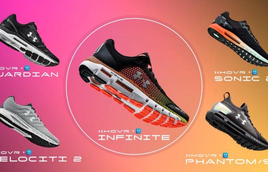 สัมผัสการวิ่งไร้แรงโน้มถ่วงในทุกย่างก้าว กับ HOVR รองเท้ารุ่นใหม่ล่าสุดจาก อันเดอร์ อาร์เมอร์