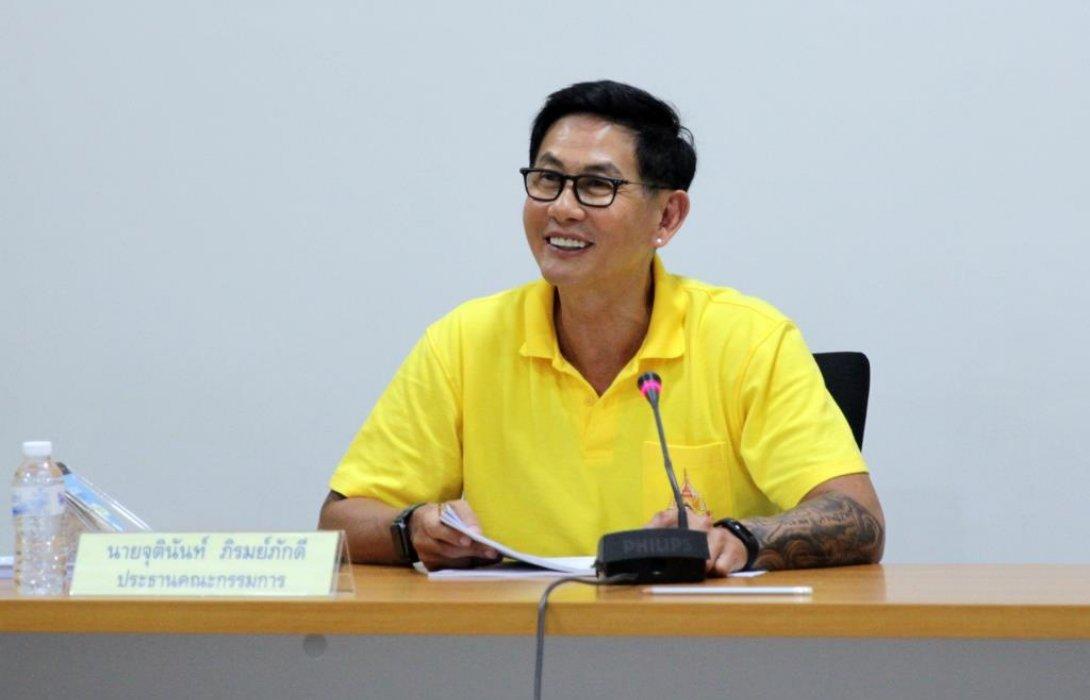 """""""จุตินันท์""""พอใจผลงาน """"ทัพพาราไทย"""" ปี 61วางเป้าพัฒนาต่อเนื่องเพื่อลุยศึก""""พาราลิมปิก 2020"""""""