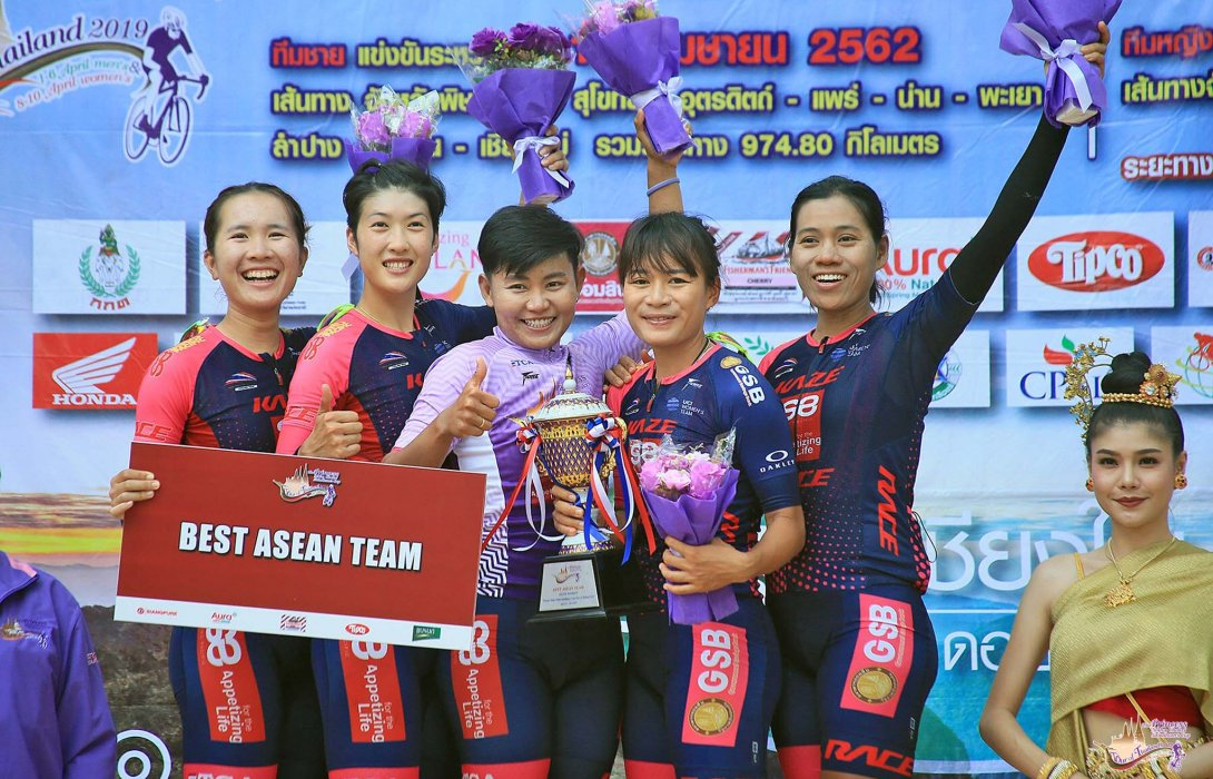 """13 ทีมนานาชาติร่วมบู๊ทัวร์ ออฟ ตราด""""เสธ.หมึก""""หวังปั่นสาวไทยผลงานหรู"""