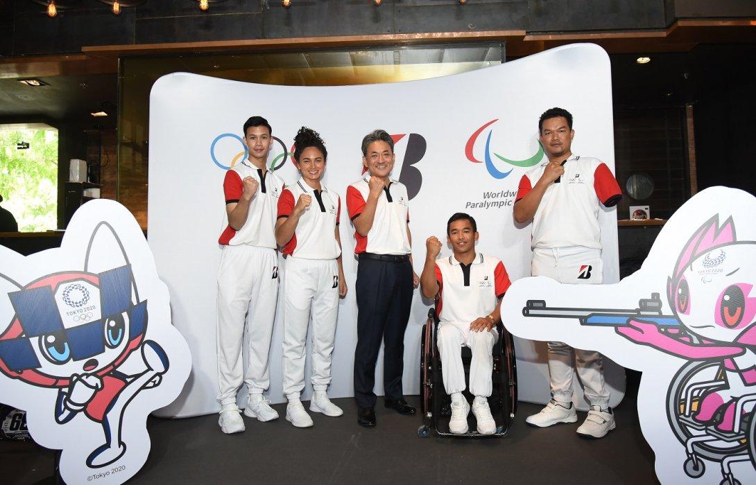 บริดจสโตนเปิดตัวทีมนักกีฬาบริดจสโตนประเทศไทย เตรียมสู้ศึกโตเกียวโอลิมปิกและพาราลิมปิก2020