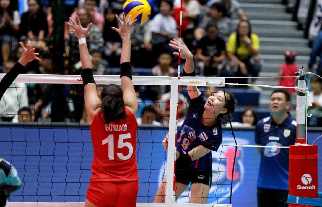 สาวไทยสยบปินส์ 3-1 คว้าชัย 2 นัดติด จ่อคว้าแชมป์ ตบแซทไทยแลนด์ วอลเลย์บอล อินวิเตชั่น 2019