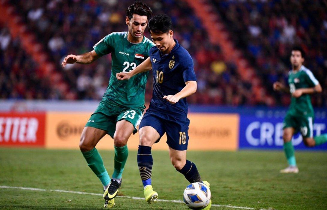 ทีมชาติไทยU23 ยันเจ๊า อิรัก 1-1 ลิ่ว 8 ทีมสุดท้ายศึกชิงแชมป์เอเชีย