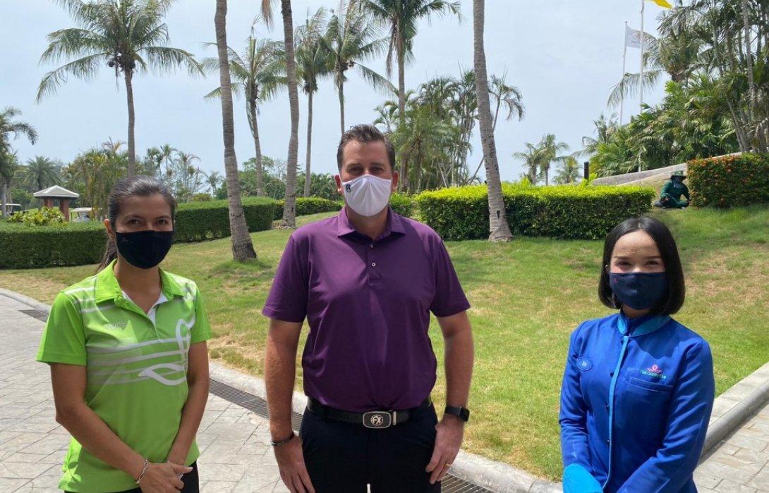 Fenix Xcell พลิกวิกฤตเป็นโอกาส ผลิตหน้ากากอนามัยป้อนสนามกอล์ฟทั่วไทย
