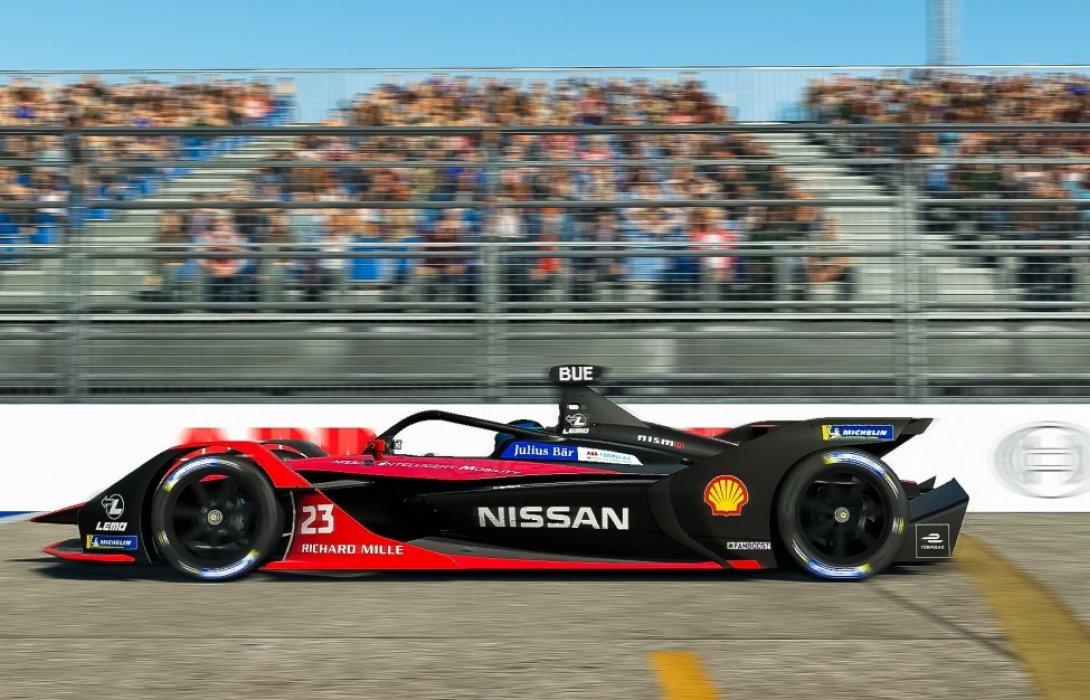 Nissan e.dams เก็บชัยชนะศึก ABB Formula E Race at Home Challenge รอบชิงชนะเลิศ