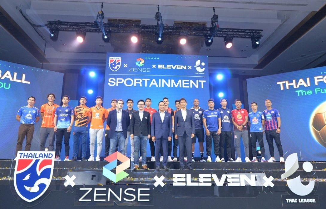 เซ้นส์ฯ - ELEVEN SPORTS ถือลิขสิทธิ์ถ่ายทอดสดฟุตบอลไทย2021–2028