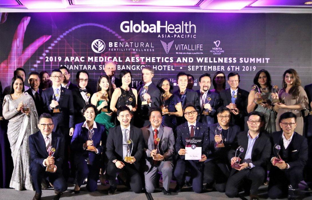 """""""เอเพ็กซ์ เมดิคัล เซ็นเตอร์"""" รับรางวัล Global Health Awards 2019 แห่งวงการ """"ศัลยกรรมตกแต่ง""""  เป็นปีที่ 2"""