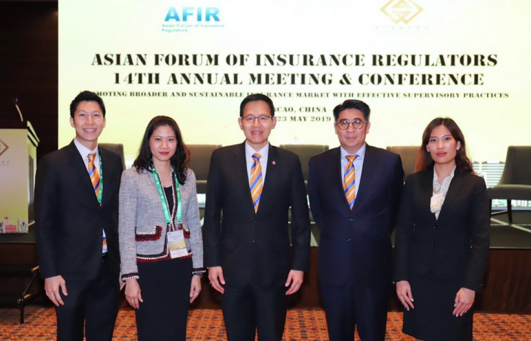 คปภ. ชูบทบาทในเวทีสากลในการประชุม 14th AFIR Annual Meeting and Conference และการประชุม 2nd Asia-Pacific High-level Meeting on Insurance Supervision ณ เขตบริหารพิเศษมาเก๊า สาธารณรัฐประชาชนจีน