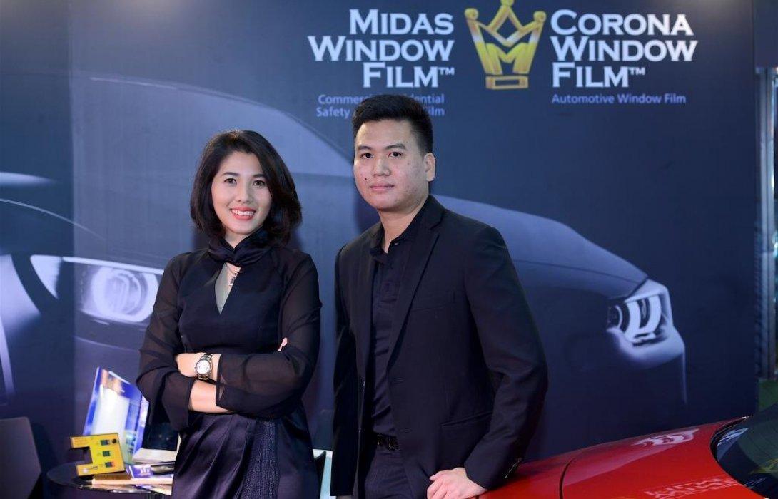 MIDAS ฟิล์มกรองแสงระดับ HI-END  โชว์นวัตกรรมใหม่ที่ลูกค้ายกนิ้วให้คุณภาพและมาตรฐาน