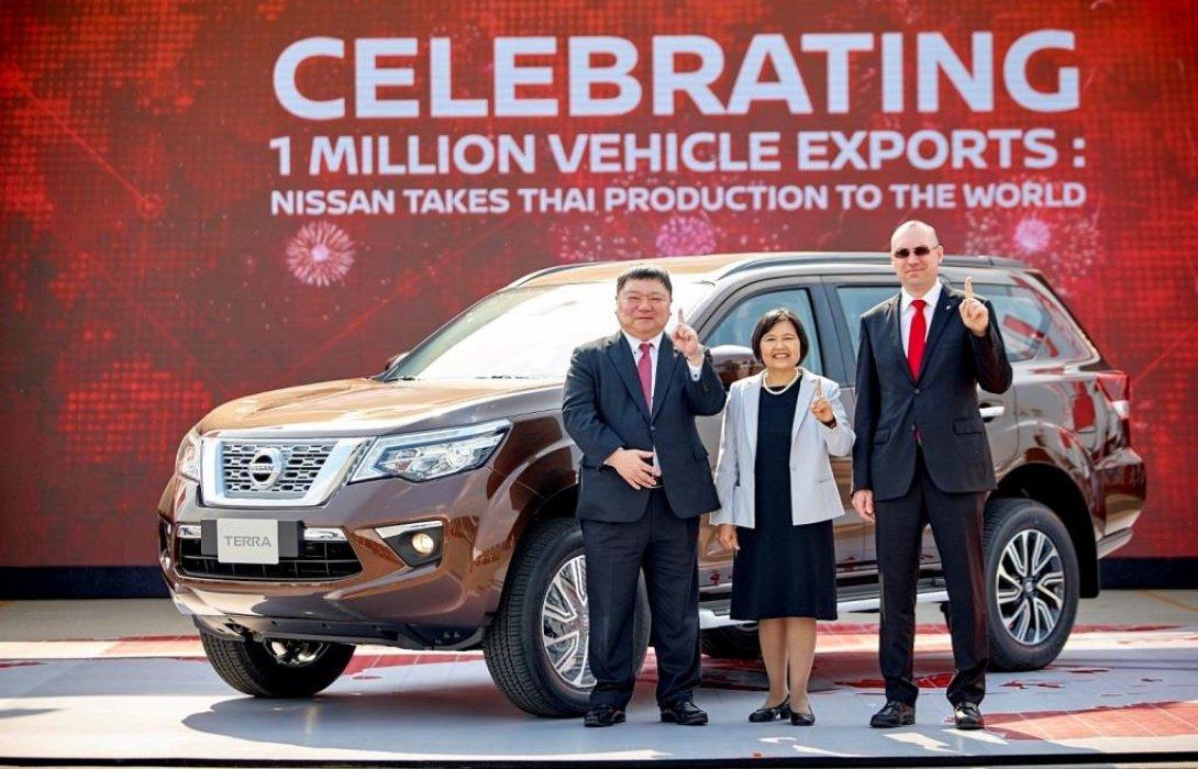 นิสสัน ประเทศไทย ฉลองความสำเร็จในการผลิตรถยนต์เพื่อการส่งออกรถยนต์ครบ1ล้านคัน