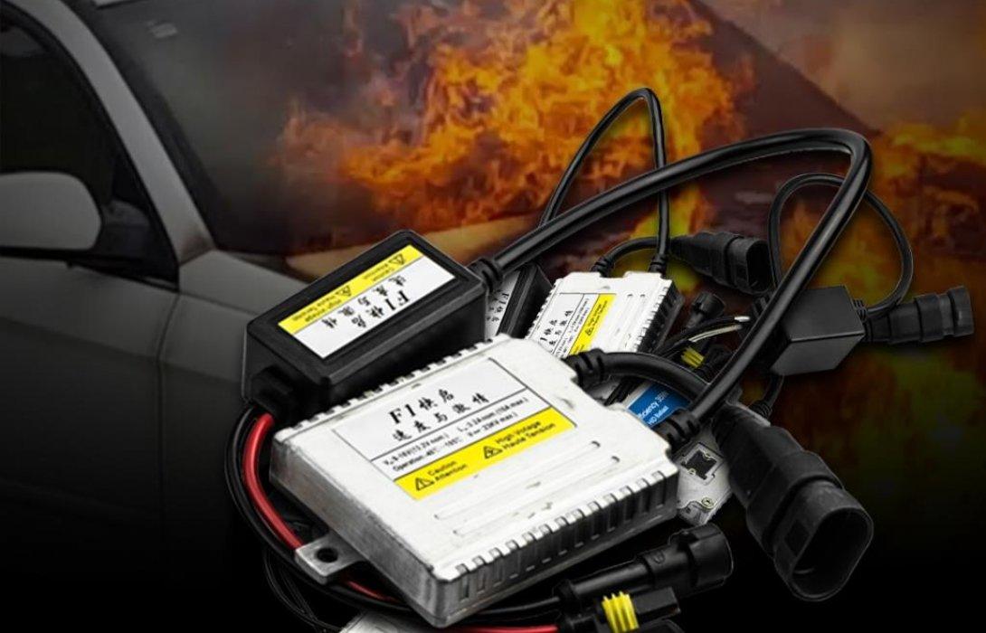 แบงก์คิ้น เตือน บัลลาสจ่ายไฟแรง ทำให้เกิดไฟไหม้รถยนต์