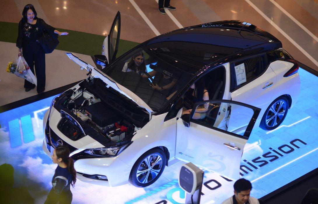 นิสสัน ปลื้มคนไทยสนใจในยานยนต์ไฟฟ้าภายใต้กิจกรรมLEAF Education