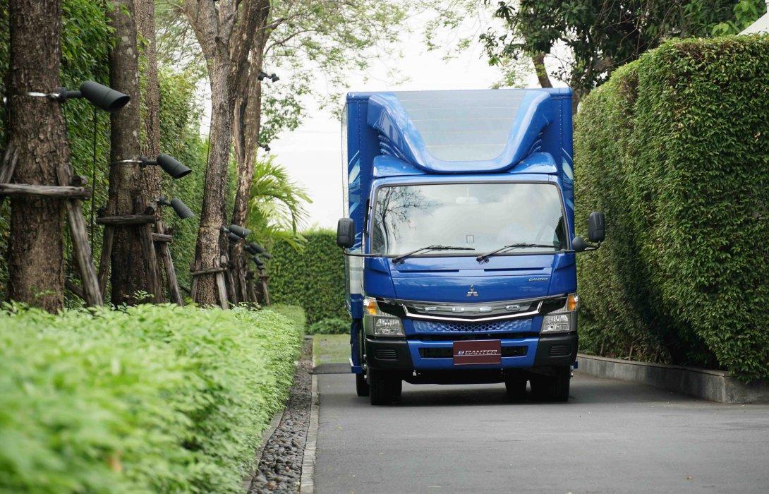 """""""ฟูโซ่ อีแคนเทอร์""""รถบรรทุกพลังงานไฟฟ้าคันแรกของโลก  เขย่าวงการรถบรรทุกเพื่อการพาณิชย์ไทย"""