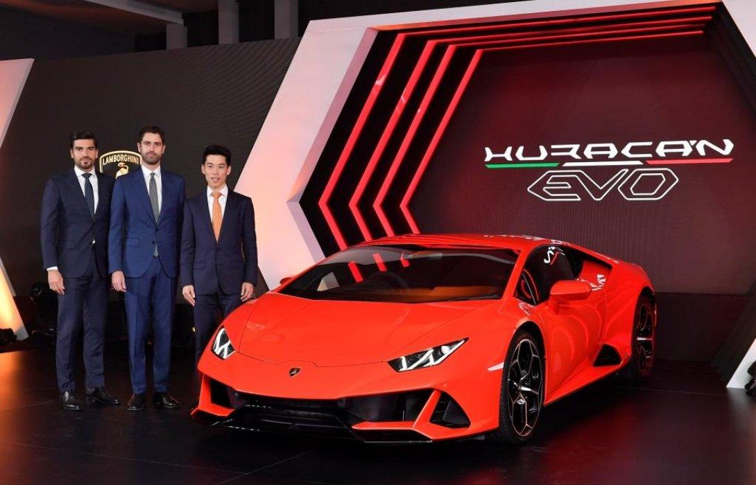"""เรนาสโซ มอเตอร์ รุกตลาดซูเปอร์สปอร์ตคาร์ เปิดตัว""""Lamborghini Huracán EVO""""โฉมใหม่ในไทย"""
