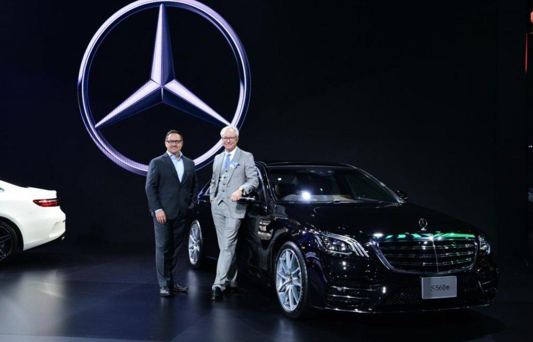 เมอร์เซเดส-เบนซ์ เปิดตัวรถยนต์ปลั๊กอินไฮบริดเจนเนอเรชั่นที่ 3  Mercedes-Benz S 560 e