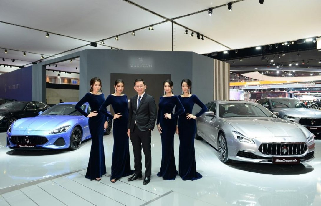 Maserati เล่นใหญ่! เอาใจสาวกตรีศูล จัดแสดงยนตรกรรม 3 รุ่นใหม่ ในงานมอเตอร์โชว์ 2019