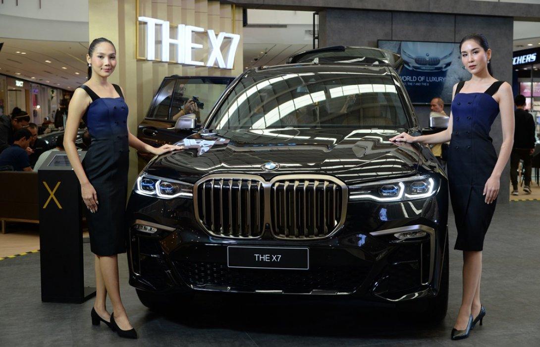 พลาติโน มอเตอร์  เปิดตัวบีเอ็มดับเบิลยู X7 เป็นครั้งแรก ในงาน BMW WORLD OF LUXURY 2019