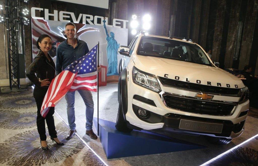 เชฟโรเลต ประเทศไทย เผยโฉมรถกระบะรุ่นใหม่ ในวันชาติสหรัฐอเมริกา