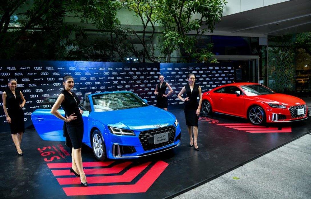 อาวดี้เปิดตัว TT ครบไลน์ครั้งแรกในประเทศไทยกับ The New Audi TT Roadster