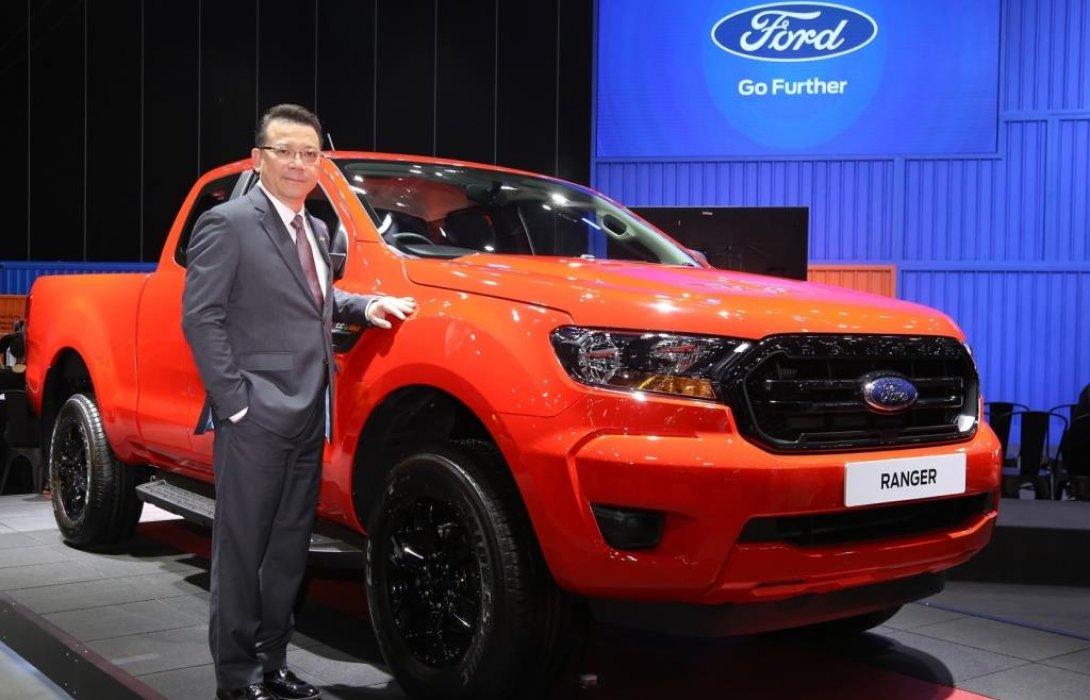 ฟอร์ดยกขบวนรถยนต์ครบรุ่นจัดแสดงในงาน BIG Motor Sale 2019