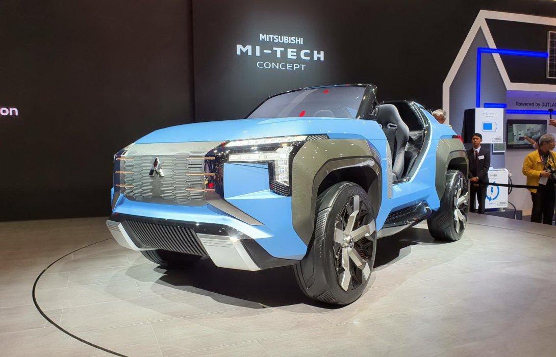 มิตซูบิชิ โชว์ Mitsubishi MI-Tech Concept รถต้นแบบใน งาน Tokyo Motor Show 2019