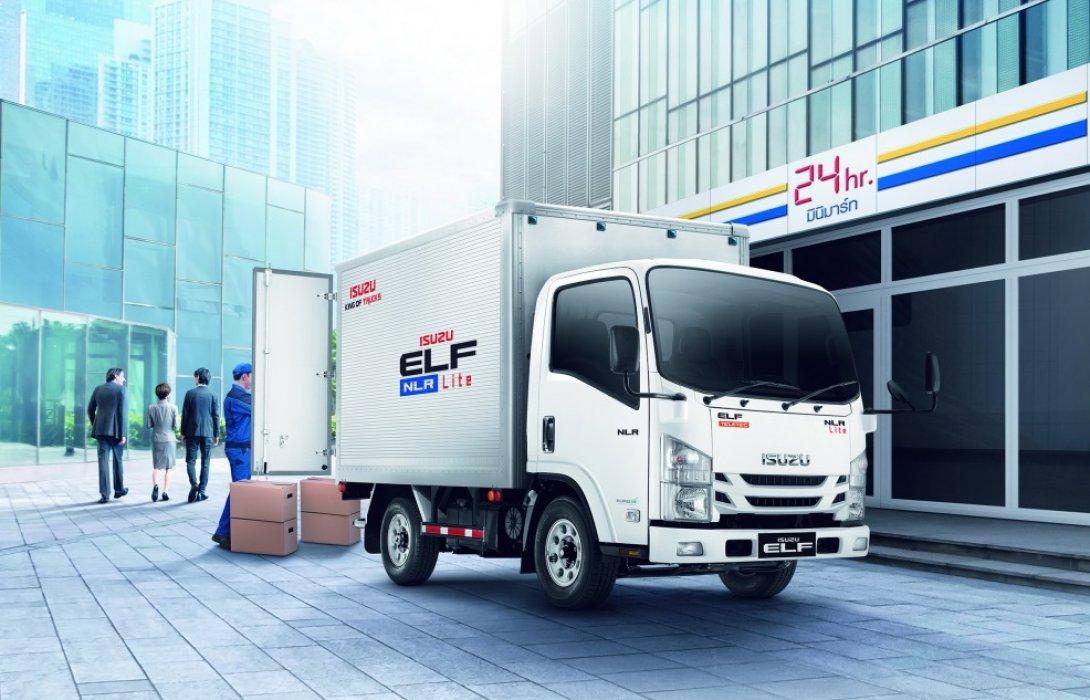 """อีซูซุเปิดตัวรถบรรทุก4ล้อตระกูลเอลฟ์ รุ่นใหม่!""""NLR Lite"""""""