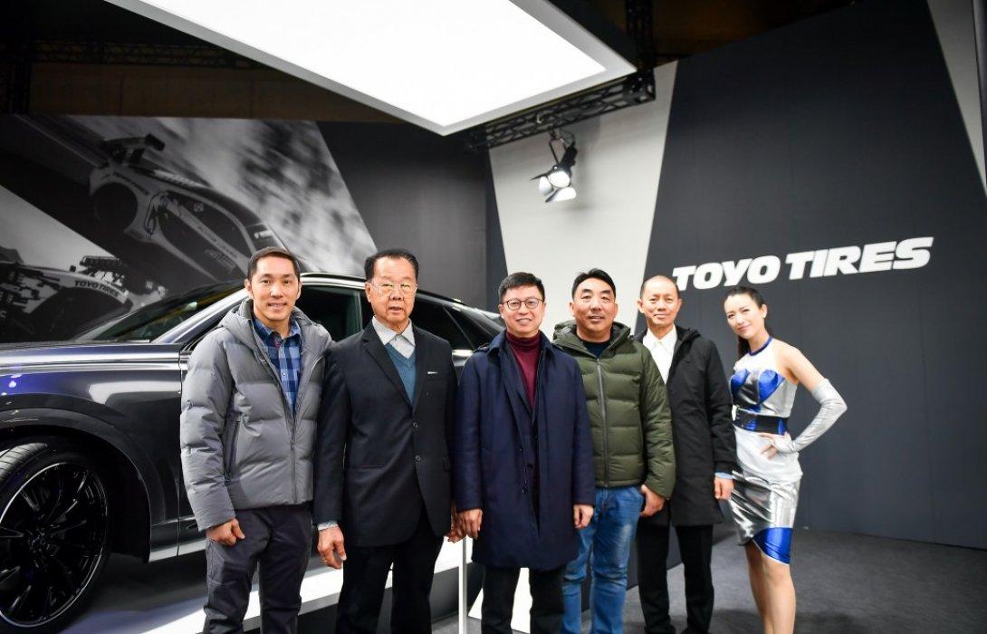 ยางโตโยไทร์-นิตโตะไทร์ บุกเปิดตัวยางใหม่กระหึ่ม TOKYO AUTO SALON 2020