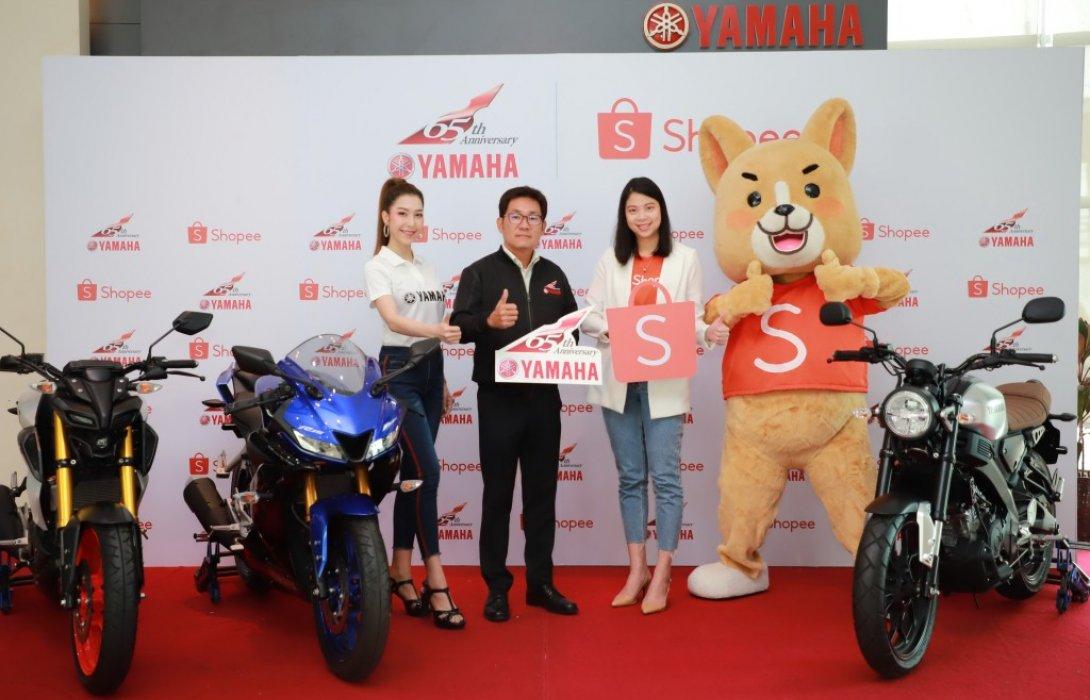ยามาฮ่าฉลอง65ปี นำร่องช้อปปิ้งรถจักรยานยนต์ออนไลน์  แบรนด์แรกของไทย