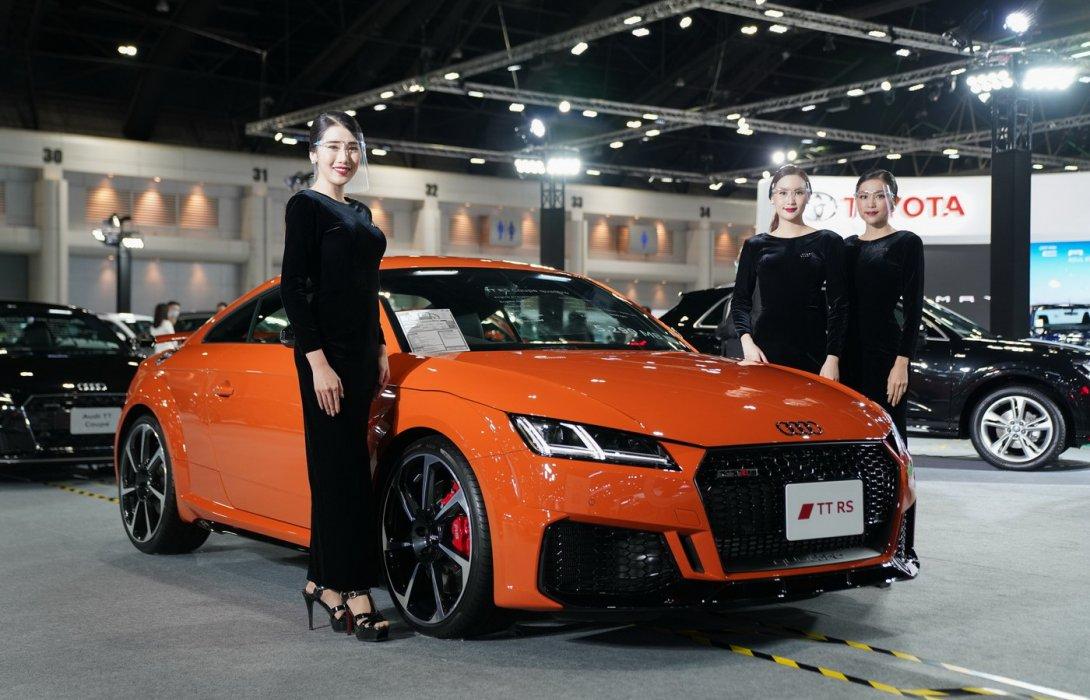 อาวดี้ เขย่าตลาดรถหรู งาน Motor Show 2020 กระตุกผ้า เปิด RS Model ครั้งแรกในไทย รุ่นใหม่พรึ่บ