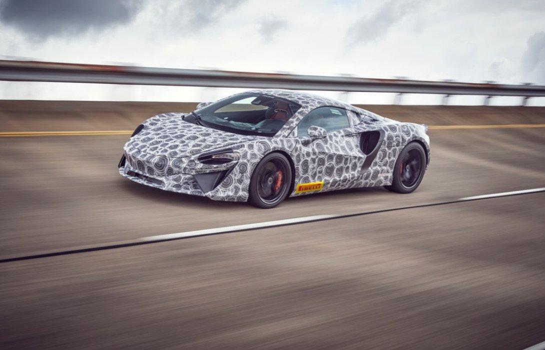 สิ้นสุดการรอคอย McLaren ซุปเปอร์คาร์ไฮบริด สมรรถนะสูงเข้าสู่ขั้นตอนสุดท้ายของการทดสอบ