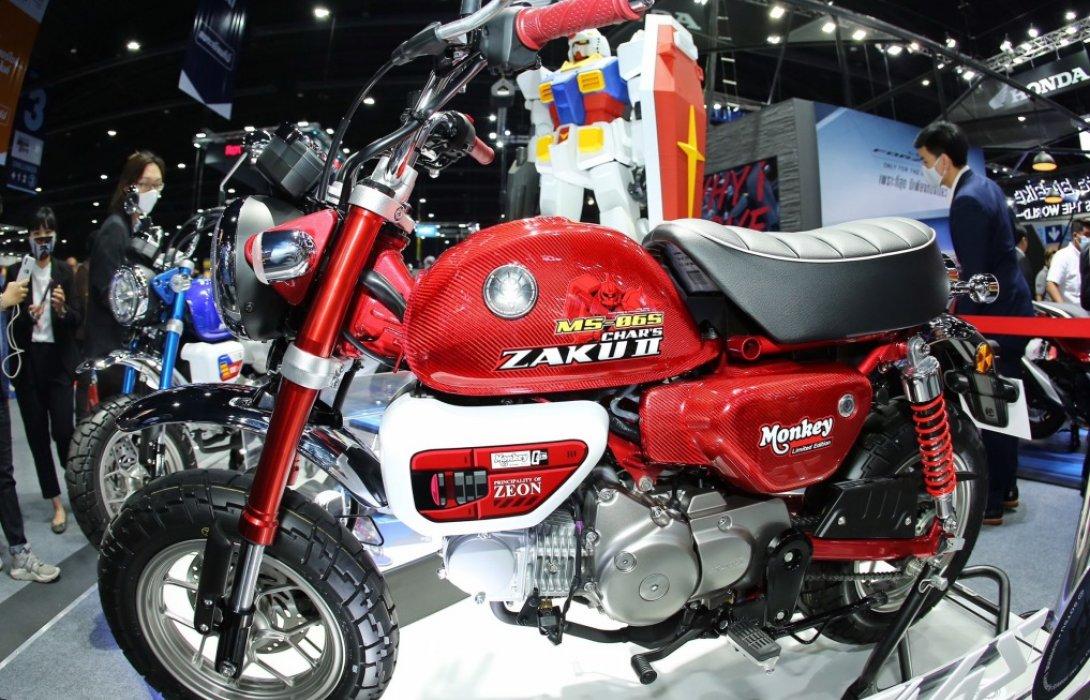 ฮอนด ายกท พโมเดลใหม บ ก Motor Expo 2020 เป ดต ว Monkey Gundam Limited