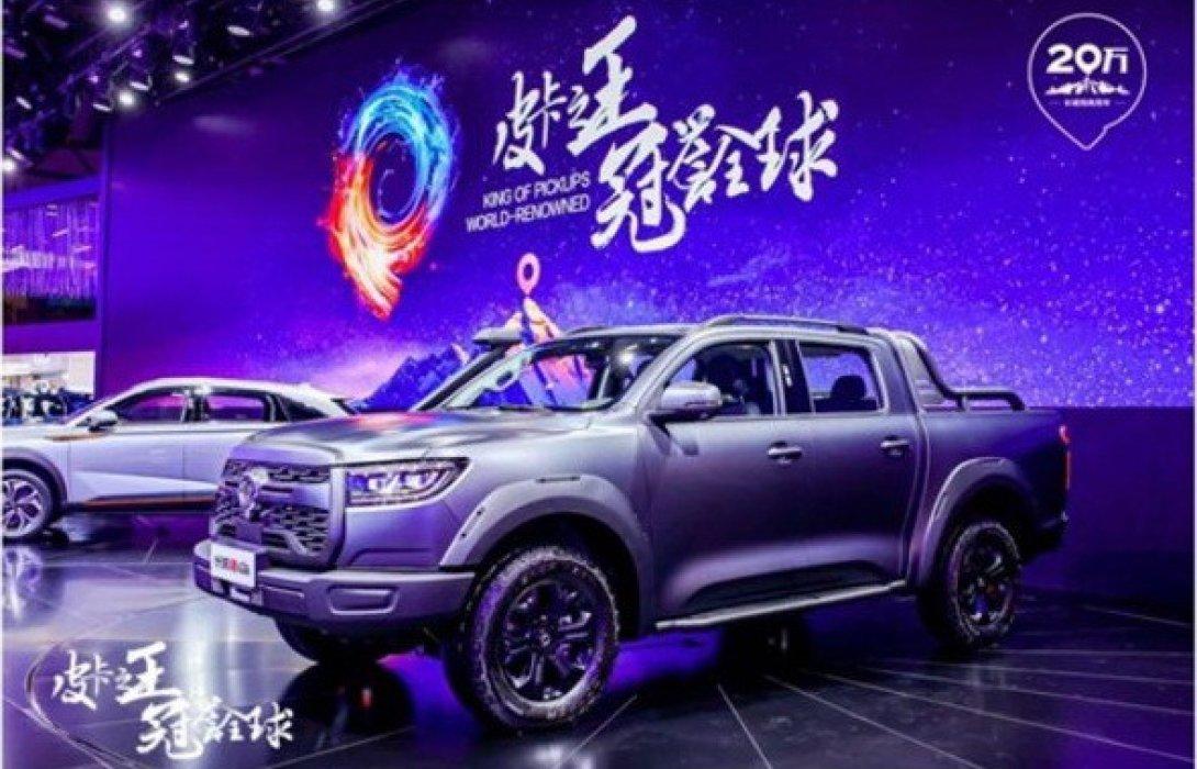 รถกระบะ GWM POER รุ่นใหม่อวดโฉมในมหกรรมChengdu Motor Show
