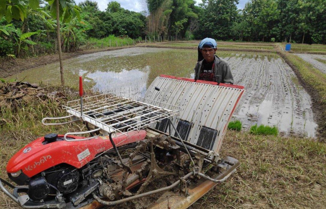 """สยามคูโบต้า เปิดตัวสินค้าใหม่""""รถดำนาเดินตาม4แถว KW4""""ตอบโจทย์เกษตรวิถีใหม่"""